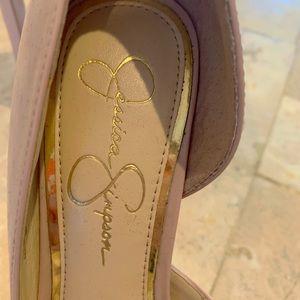 Jessica Simpson Shoes - ❤️❤️Never worn Jessica Simpson peep toe pumps
